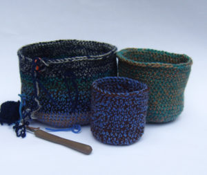 crochet nests