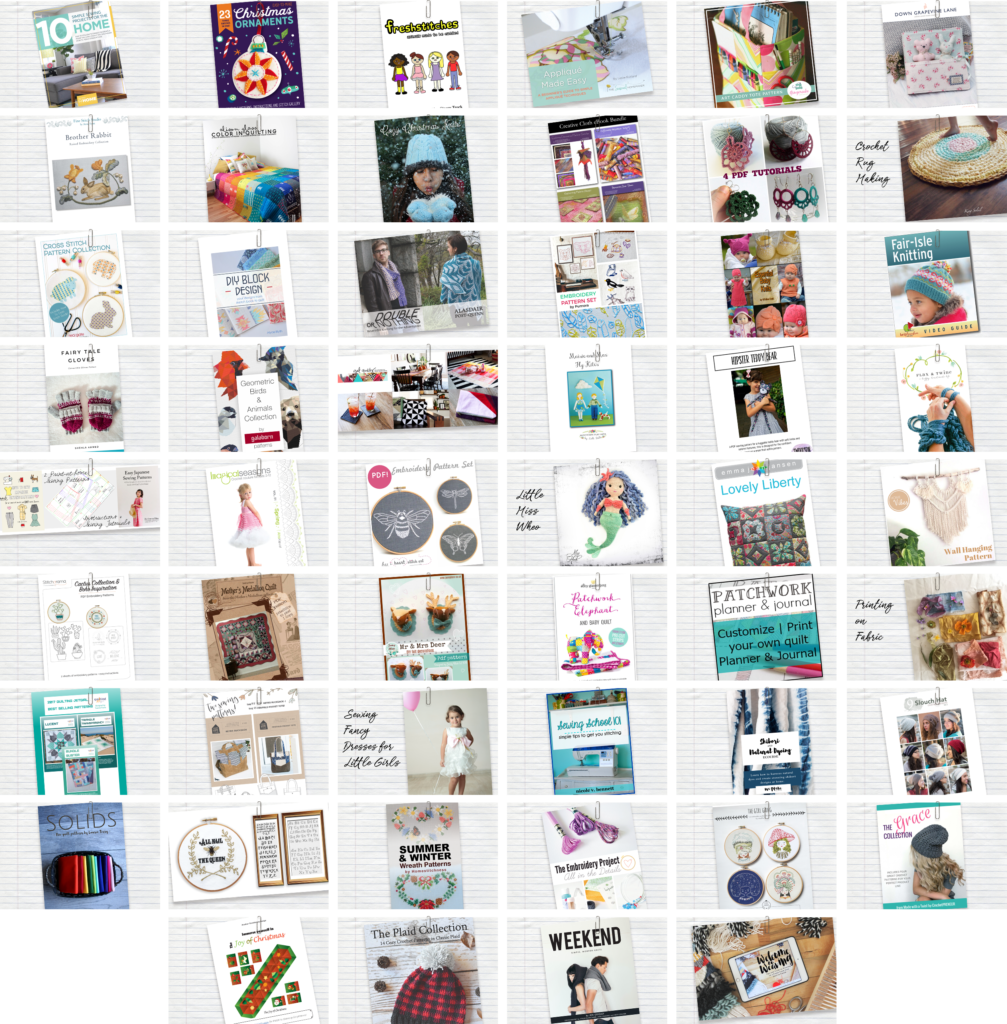 Here's what's included in the Handmade With Love Super Bundle