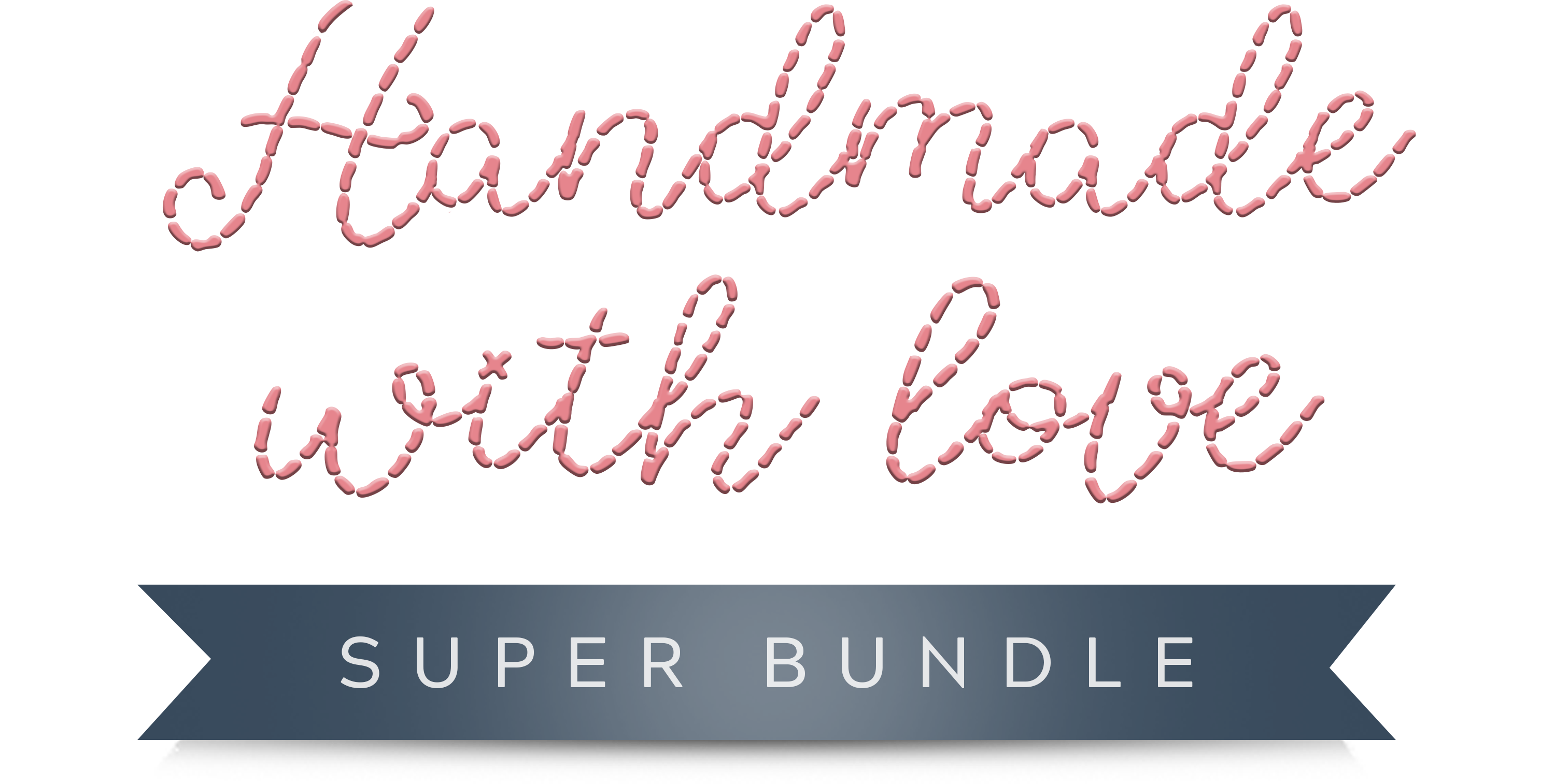 Get the Handmade With Love Super Bundle - over 200 projects and patterns for under £25 (worth over £1000!)